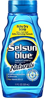 Selsun Blue Naturals Dandruff Shampoo Itchy Dry Scalp - 11 oz, Pack of 5