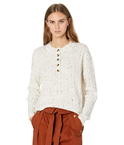 Madewell Donegal Cherry Ribbed Henley