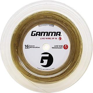 Gamma Sports Live Wire XP Tennis Racket String Multifilament Series- Firmer, More Crisp Feel For Natural Gut-Like Playabil...