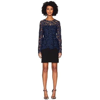 Rachel Zoe Alyssa Dress (Parisian Blue/Black) Women