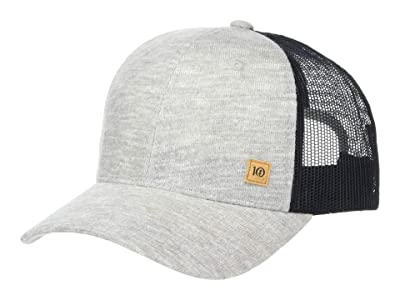 tentree Cork Icon Elevation Hat (High-Rise Grey Marled) Caps