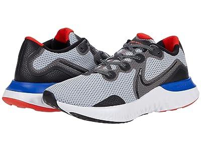 Nike Renew Run (Grey Fog/Black/Racer Blue/Chile Red) Men