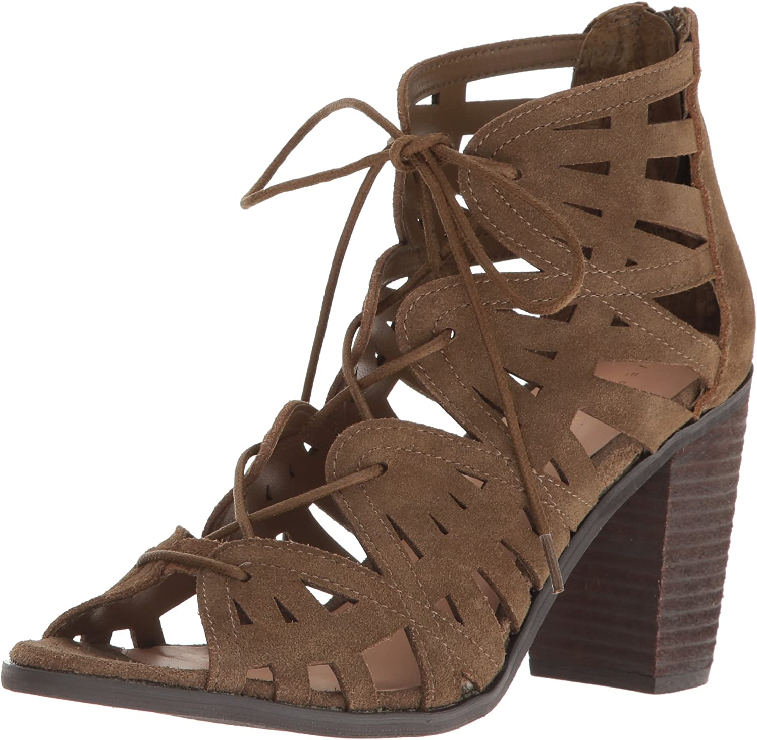 Very Volatile Womens Anabelle Heeled Sandal