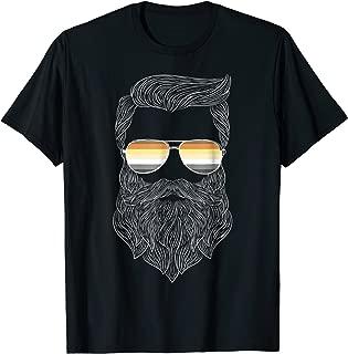 Hipster Daddy Bear Gay Pride T-shirt
