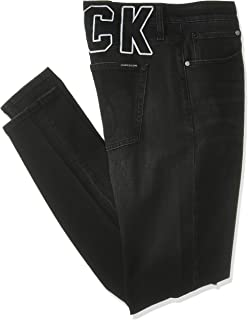 Calvin Klein Jeans Men's CKJ 058 SLIM TAPER Denim Pants, Blue (Ba117 Black Dstr Ck Varsity 911), Size: L34/W30