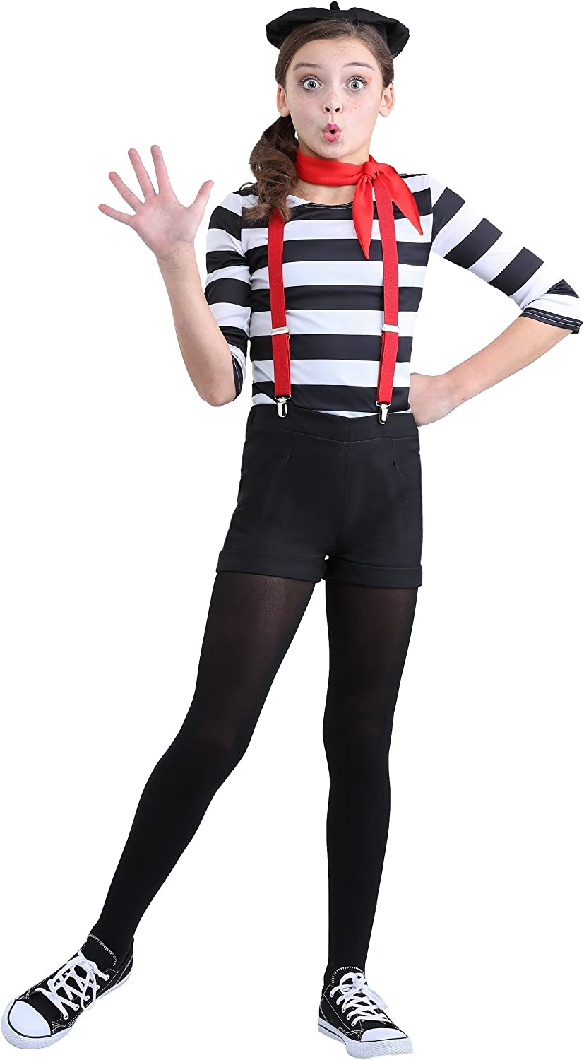 Girl's Bombing free shipping Mime Gifts Costume