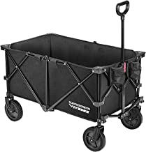 VIVOSUN Heavy Duty Collapsible Folding Wagon Utility Outdoor Camping Beach Cart with..