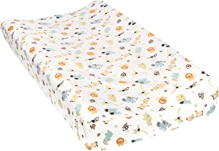 Trend Lab Jungle Friends Deluxe Flannel Changing Pad Cover