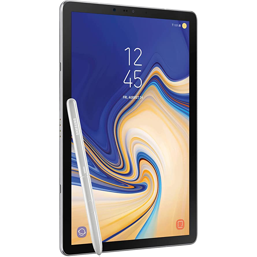 Samsung Galaxy Tab S4 10.5in (S Pen Included) 64GB, Wi-Fi Tablet - Gray (Renewed)