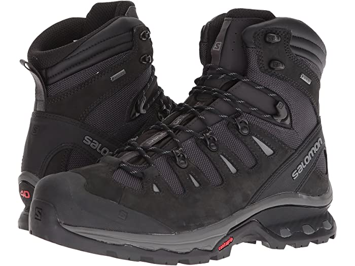 Salomon Mens Quest 4D 3 GTX Backpacking Boots PHANTOM//Black//Quiet Shade 7.5