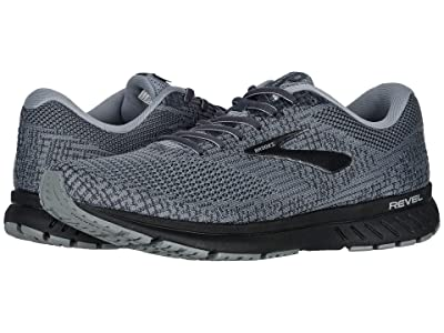 Brooks Revel 3 (Primer/Ebony/Black) Men