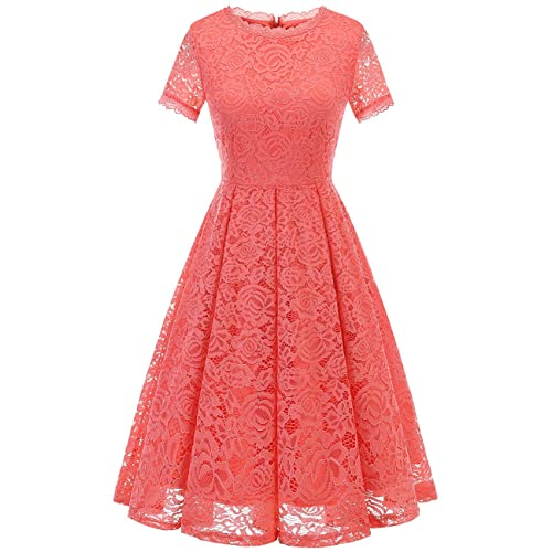 Coral Dress for Wedding