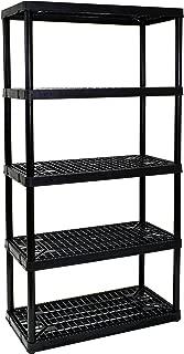 Gracious Living 5-Shelf Heavy Duty Shelf Unit