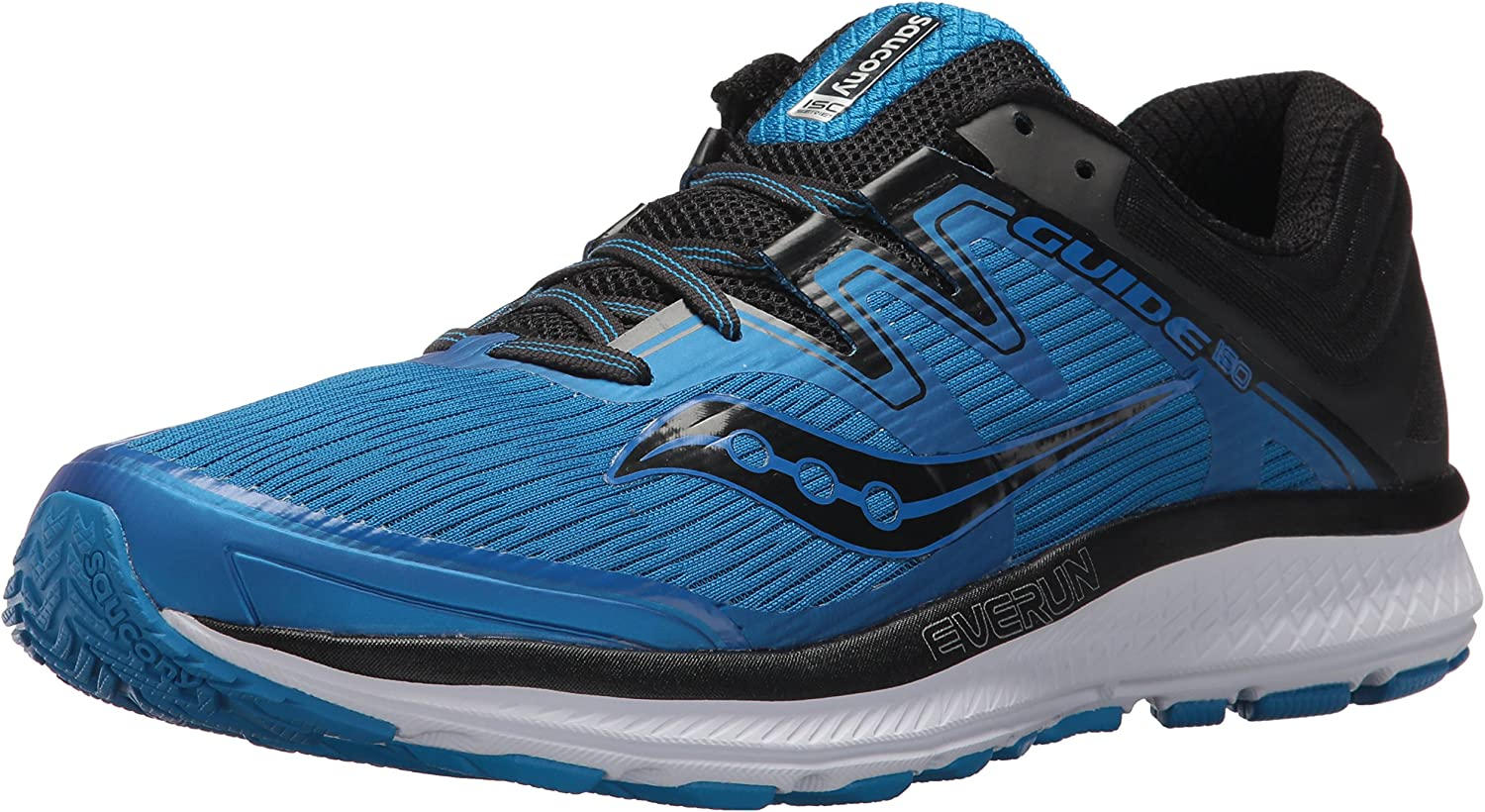 Saucony Men's Guide Iso Running shoes, bluee Black, 7.5 Medium US