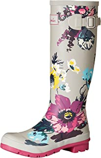 Joules Women's Welly Print Rain Boot,