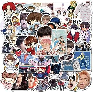 BTS Stickers, Korean Singer Stickers 77PCS for Singer Fans Super Star