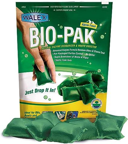 Walex BOI-11530 Bio-Pak Natural Holding Tank Deodorizer