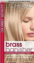 L'Oreal Paris Colorist Secrets Brass Banisher, Color Balancing Gloss Treatment
