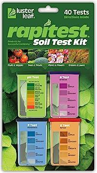 Luster Leaf 1601 Rapitest Test Kit for Soil pH