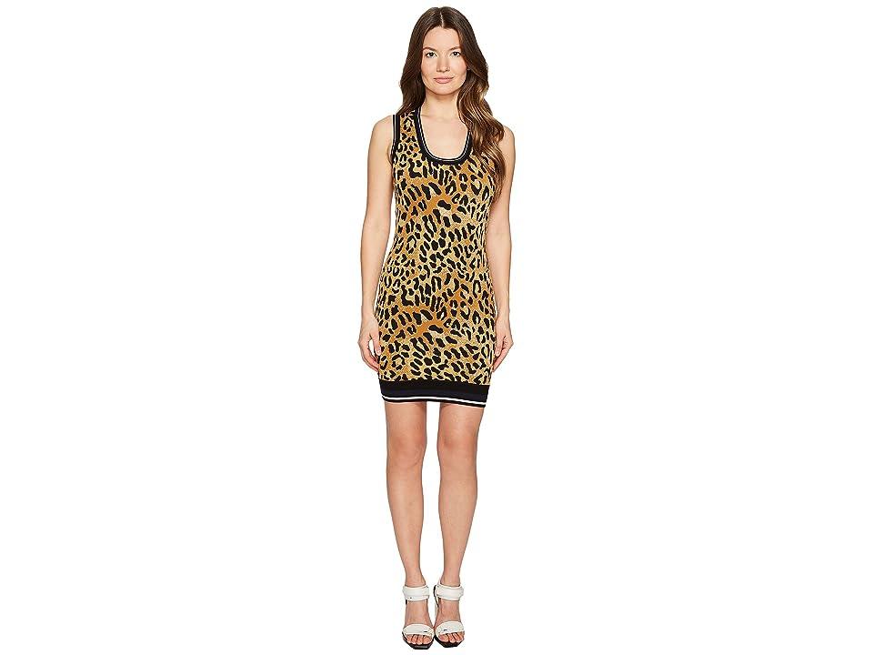 DSQUARED2 Animal Tank Dress (Cheetah Print) Women