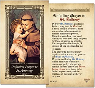 Best st anthony prayer card Reviews