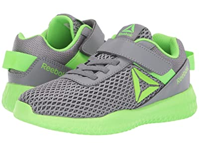 Reebok Kids Flexagon Energy Alt (Little Kid/Big Kid) (Grey/Solar Green) Boys Shoes
