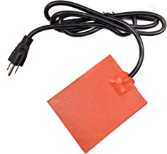 ENGINE OIL BLOCK HEATER Pan 3M stick on Pad (120V U.S.A. / Long CORD) Designed for: 4 Cylinder Engines by Z-TOOL HEATER TEC.