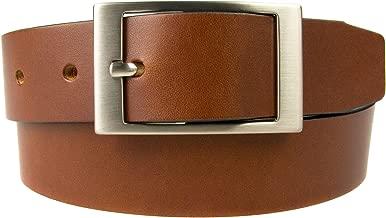 Tan Leather Belt - UK MADE - 3.5cm Wide