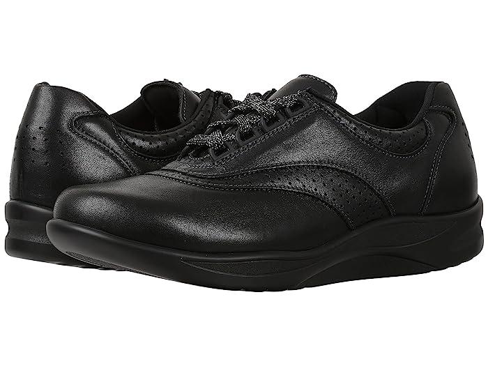 Walk Easy Lace up Shoes Beige 8.5 S Womens SAS