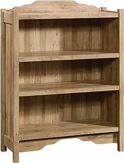 Sauder Viabella 3 Shelf Bookcase, Antigua Chestnut finish
