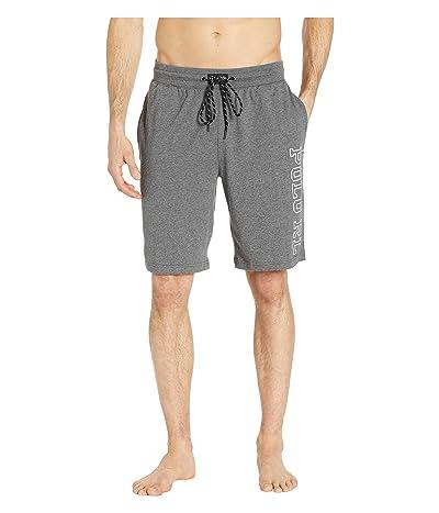 Polo Ralph Lauren Jersey Sleep Shorts (Fortress Grey Heather/Nevis Polo RL) Men