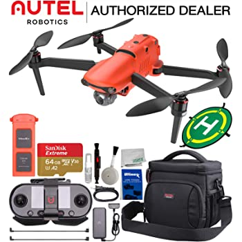 Autel Robotics EVO II (EVO 2) 8K Foldable Quadcopter Drone with 3-Axis Gimbal with Starter Accessory Bundle