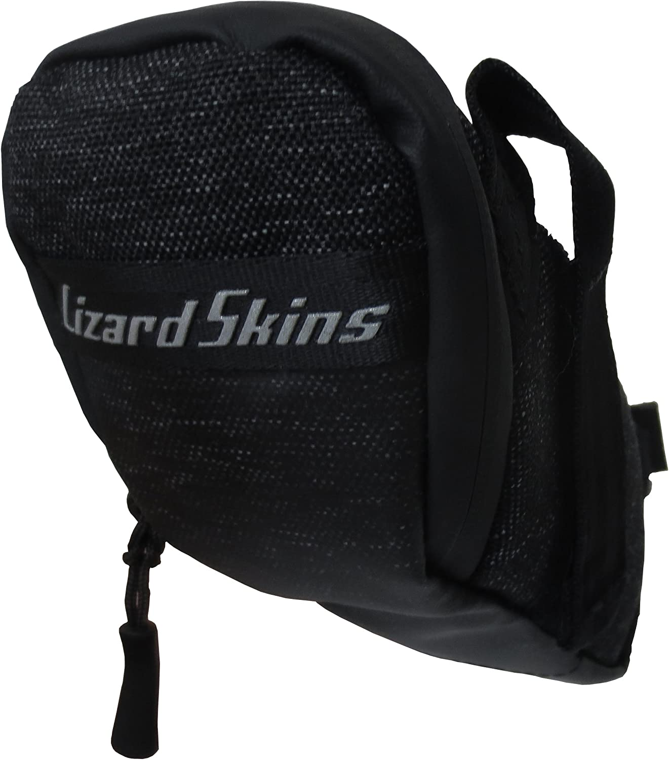 Lizard Skins Cache Saddle Bag Jet Black, One Size