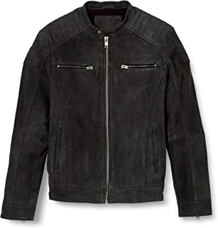 Jjeliam Leather Jacket Noos Chaqueta para Hombre
