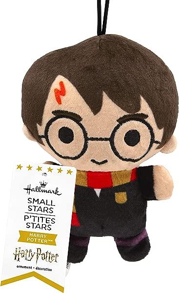 Hallmark Small Stars Harry Potter Plush Christmas Ornament