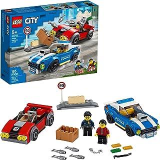 LEGO City 60242 Policía: Arresto en la Autopista (185 pieza