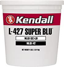 Kendall 1073836 1 Pack Lithium Complex Grease (L-427 Super Blu Multipurpose Extreme-Pressure - 4 LB Tub)