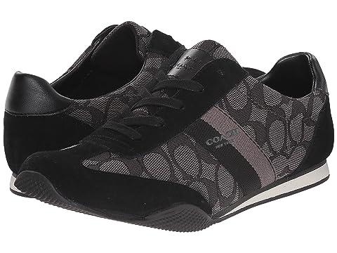 Womens Shoes COACH Kelson Outline Khaki/Chestnut Sig/Suede