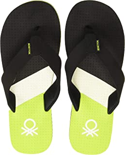 United Colors of Benetton Men's 19a8cffpm467i Flip-Flops