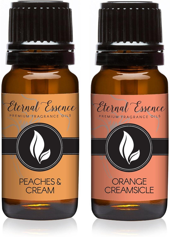 Pair (2) - Peaches & Cream and Orange Creamsicle - Premium Fragrance Oil Pair - 10ml