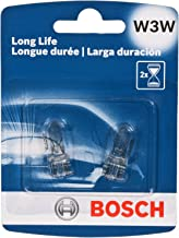 Bosch Automotive W3WLL Light Bulb, 2 Pack