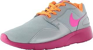 Girls Kaishi Print Running Shoes (6.5, Pure Platinum/Citrus/Pink)