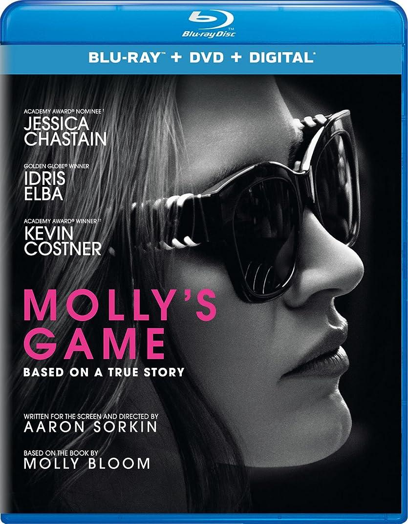激しい耐えられる人生を作るMolly's Game/ [Blu-ray]