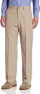 Van Heusen Men's Traveler Flat Front Straight Fit Pant