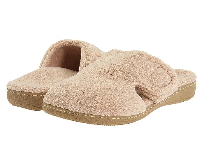 VIONIC  Gemma (Tan Terry) Womens Slippers