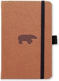 Dingbats A6 Pocket Wildlife Brown Bear Notebook - Lined