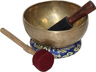 Hecho a mano tibetano canto cuenco 8