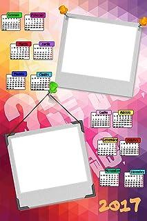 Personalisierte Kalender 2017 mit zwei Fotos, Art. Art. Art. 083, Format 30 x 45, komplett von Bewerbungsset und fer34 Wand. B01LY0FXH7  Flut Schuhe Liste 0b05b5
