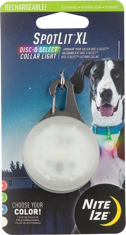 Nite Ize Spotlit XL We OFFer Under blast sales at cheap prices LED Dog Clip Collar Carabiner Light