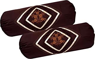 Rj Products Cotton 100 TC Bolster Cover (Coffee_Cal King)